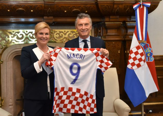 ARGENTINA – Hrvatska predsjednica Kolinda Grabar-Kitarović i Macri razgovarali o jačanju suradnje