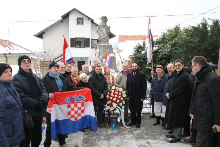 ZAGREB – Obilježena 122. obljetnica smrti dr. Ante Starčevića