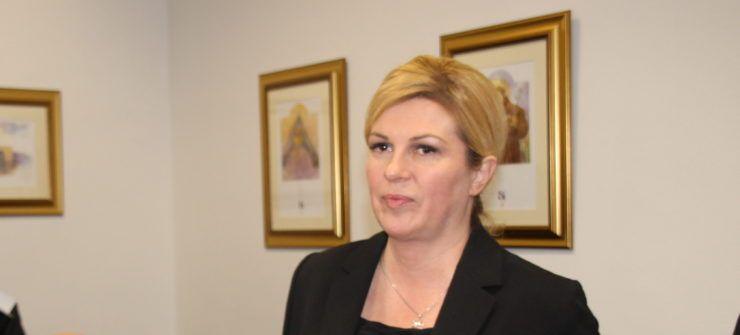 Predsjednica Grabar-Kitarović: Izvješće Europske komisije potvrdilo da Hrvatska zaostaje
