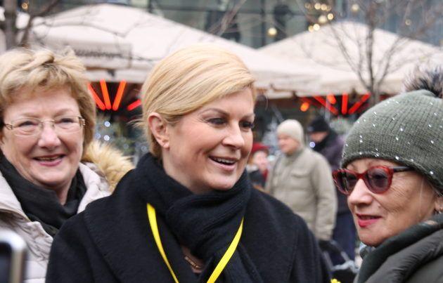 Predsjednica Grabar-Kitarović pozvala premijera Plenkovića da primi udrugu Blokirani