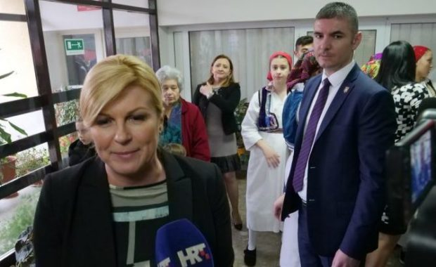 Predsjednica Grabar-Kitarović: Gradnja LNG terminala bitna za energetsku neovisnost Hrvatske