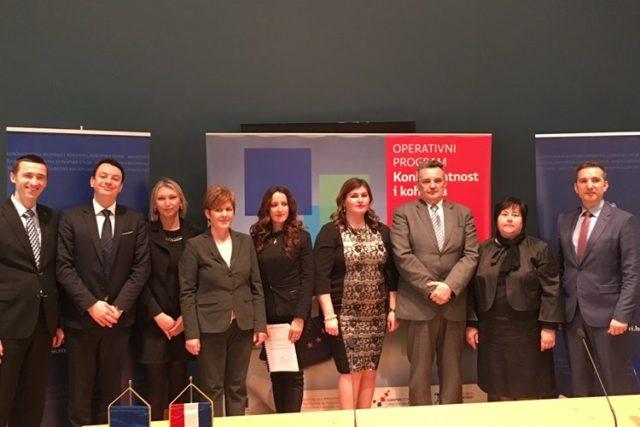 Potpisano sedam ugovora iz EU fondova u vrijednosti 182 milijuna kuna