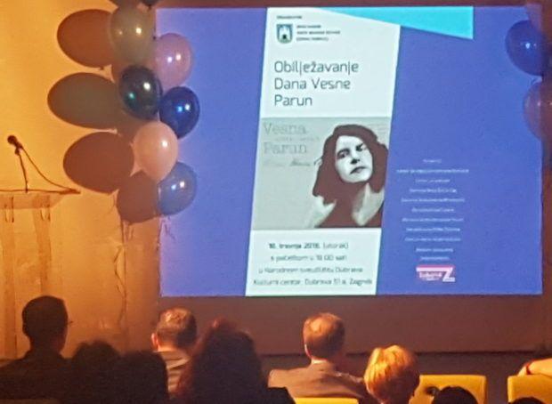 U Gornjoj Dubravi u Zagrebu obilježen Dan Vesne Parun