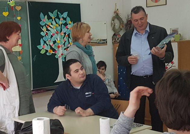 """ZAGREB – Vijećnici Gradske četvrti Gornja Dubrava posjetili """"Centar za autizam"""""""