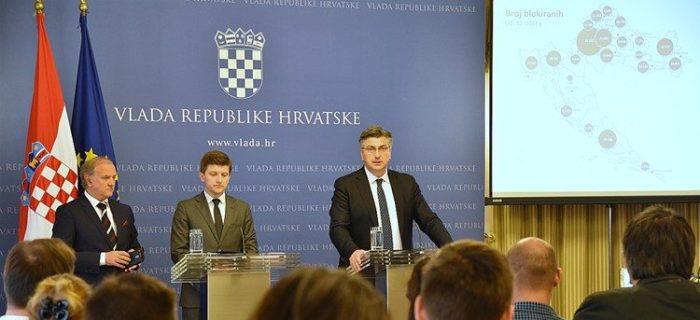 Predsjednik Vlade Plenković : Pripremili smo mjere kojima želimo konkretno pomoći blokiranim sugrađanima i smanjiti njihov broj