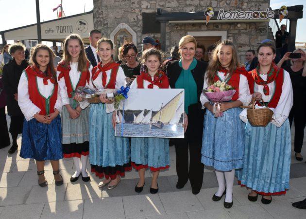 Posjetom otoku Murteru predsjednica Grabar-Kitarović završila trodnevni boravak u Šibensko-kninskoj županiji