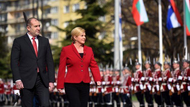 """Predsjednica Grabar-Kitarović: """"Hrvatska i Bugarska zajedno se zalažu za europsku perspektivu jugoistoka Europe"""""""