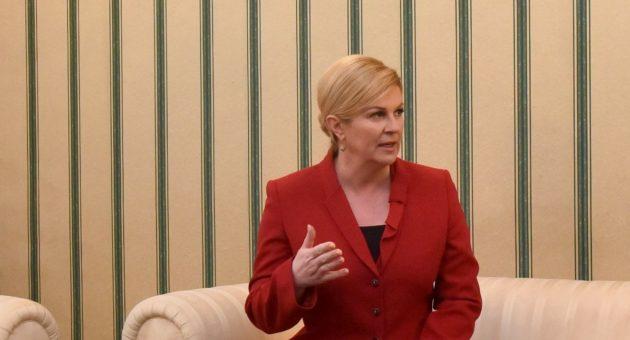"""Predsjednica Grabar-Kitarović poziva na dijalog s Rusijom: """"Politika dijaloga jedini put za odnose između Rusije i zapadnih država"""""""