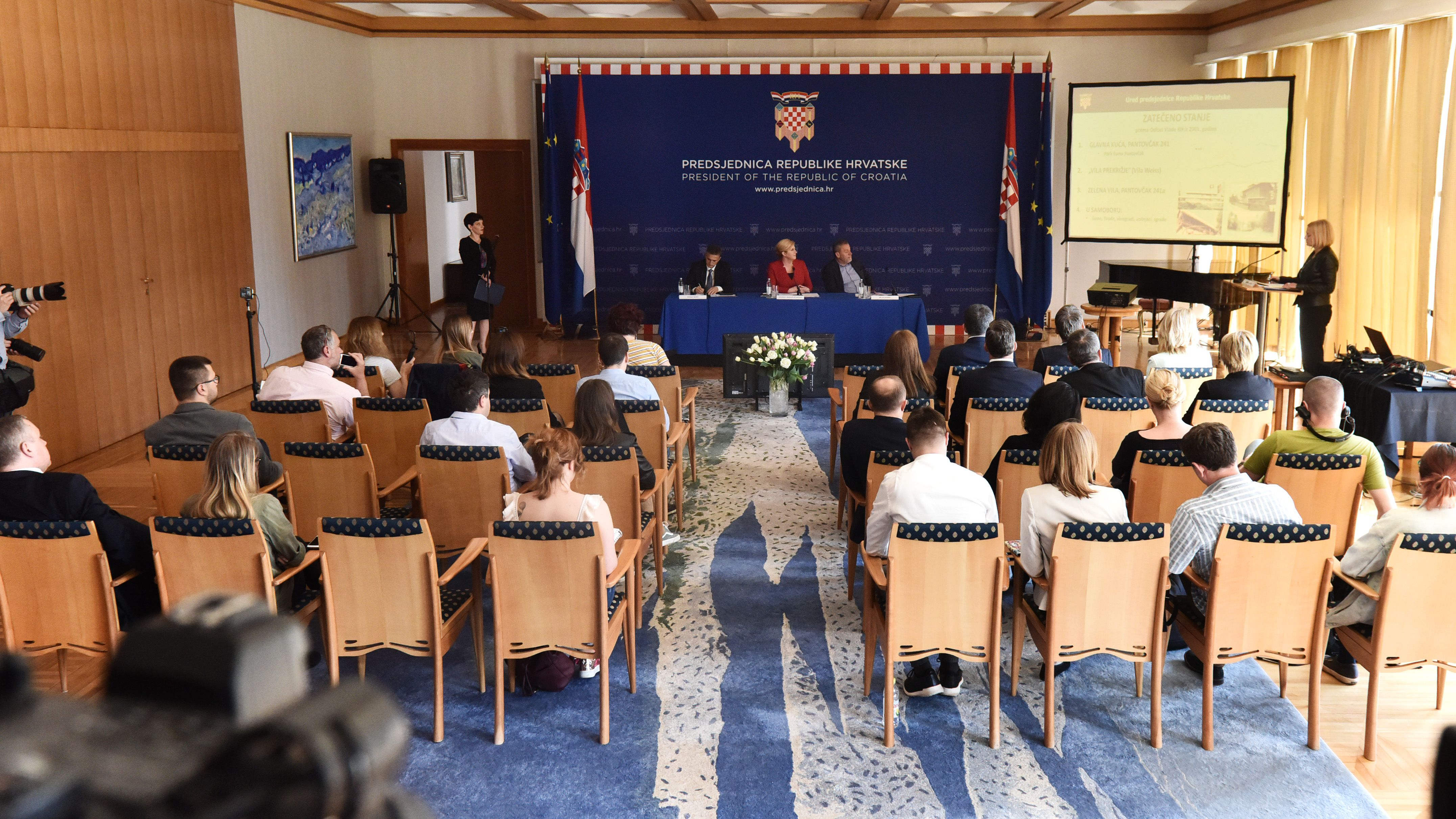 Predstavljen projekt kojim će kompleks Ureda predsjednice Grabar-Kitarović biti smanjen za 700 tisuća metara četvornih