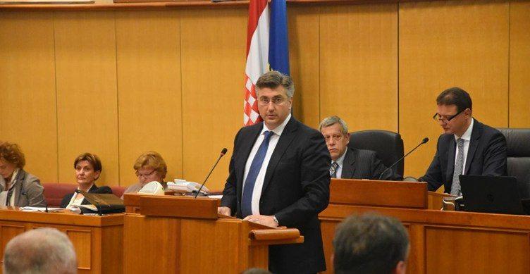 SABOR – Predsjednik Vlade Plenković o pobačaju: Moj je osobni stav da se učini sve da do toga ne dolazi