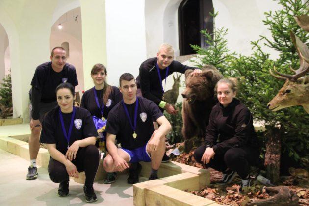 Jastrebarsko – Policijski službenici na noćnom orijentacijskom natjecanju
