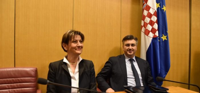 """GLASOVANJE U SABORU – Martina Dalić """"preživjela"""" glasovanje"""