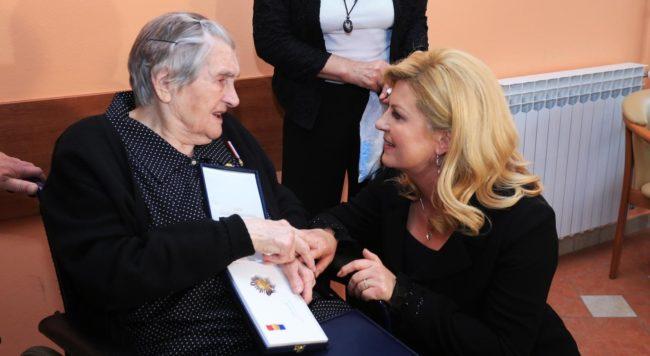 Predsjednica Kolinda Grabar-Kitarović: Milka Zadro simbol je patnje i požrtvovnosti hrvatskih žena