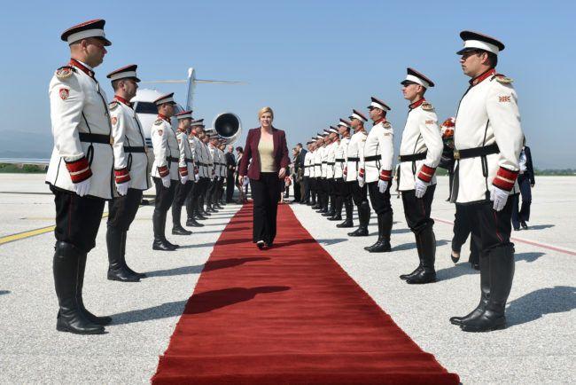 Predsjednica Grabar-Kitarović Hrvatima u Makedoniji poručila kako se radi na ostvarivanju njihovih prava