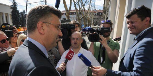 """ŠEF HDZ-a i premijer Plenković odgovorio na Stierovu izjavu osjeća li se prozvanim: """"I na koga je on tu mislio? """""""