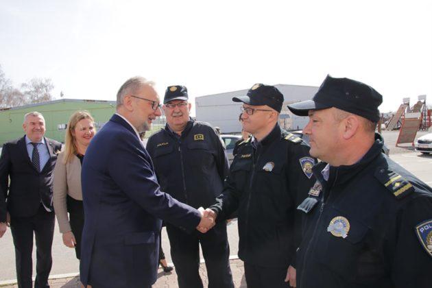 Ministar Božinović: Nastavlja se projekt ulaganja u smještajne objekte policije
