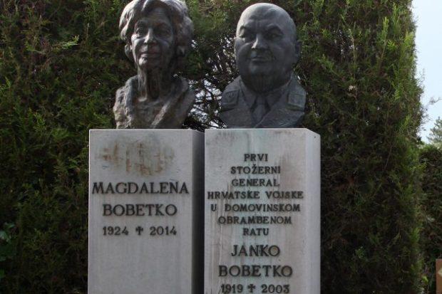 15. godišnjica smrti – Izaslanstva na posljednjem počivalištu generala Bobetka