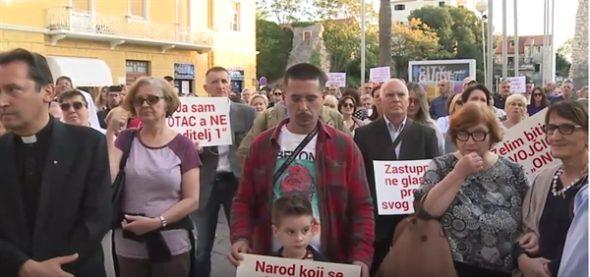 "Građanska inicijativa poziva na prosvjed na splitskoj Rivi 12. travnja: ""Hrvatska protiv ratifikacije Istanbulske konvencije"""
