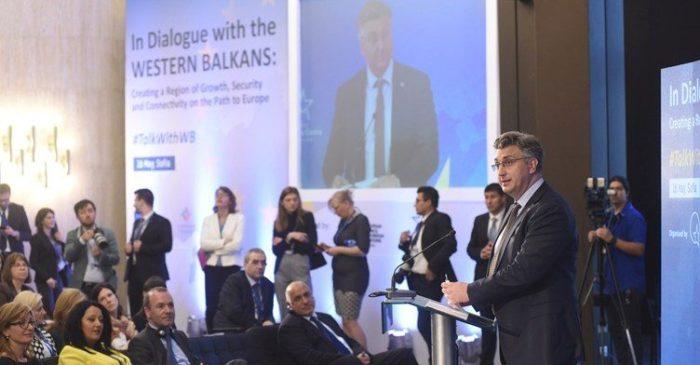 Predsjednik Vlade Plenković: susjedi iz EU-a trebaju dati ton za ubrzanje proširenja na zapadni Balkan