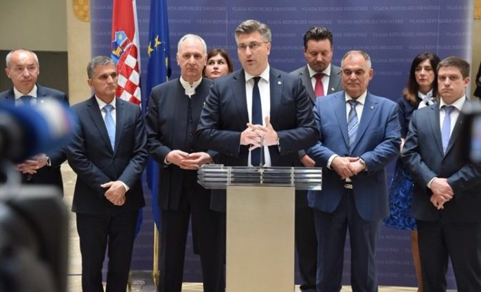 """Predsjednik Vlade Plenković: Razumjeli smo poruke radnika """"Dalmacijavina"""""""