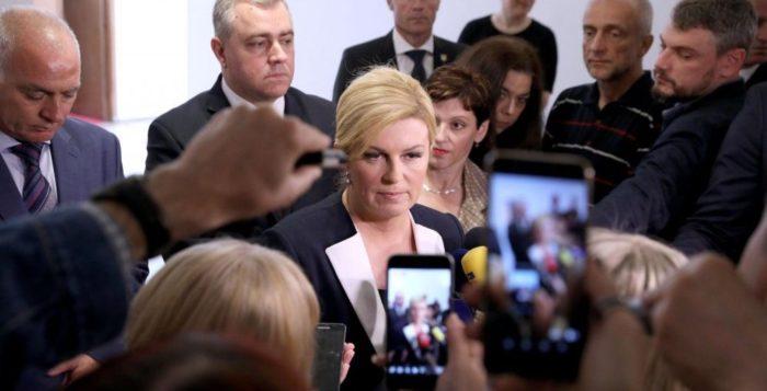 """Predsjednica Republike Grabar-Kitarović: """"Put u SAD bio je transparentan, ne vidim po čemu sam bila netransparentna"""""""