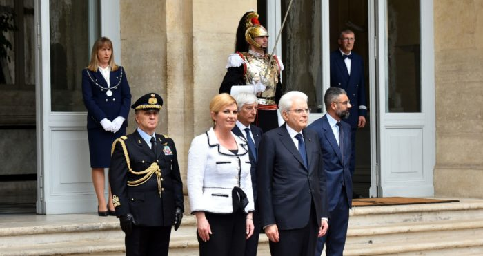 Predsjednica Grabar-Kitarović: Hrvatska zajednica u Italiji je 'veliko demografsko blago za RH'