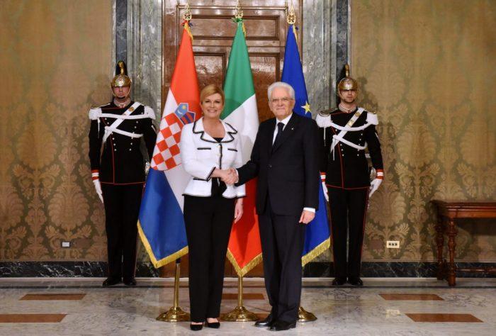 Predsjednica Kolinda Grabar-Kitarović počela službeni posjet Italiji