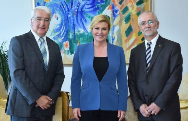 Predsjednica Grabar-Kitarović primila predstavnike tvrtke Lockheed Martin za Europu