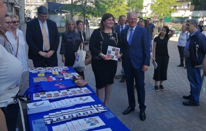 EUROPSKI TRG – U Zagrebu obilježen Dan Europe