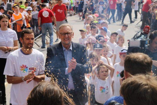 """U Zagrebu održane Plazma Sportske igre mladih – Ministar Božinović: """"Ono što je dobro i plemenito jest osigurati djeci sport, ali i sigurnost"""""""