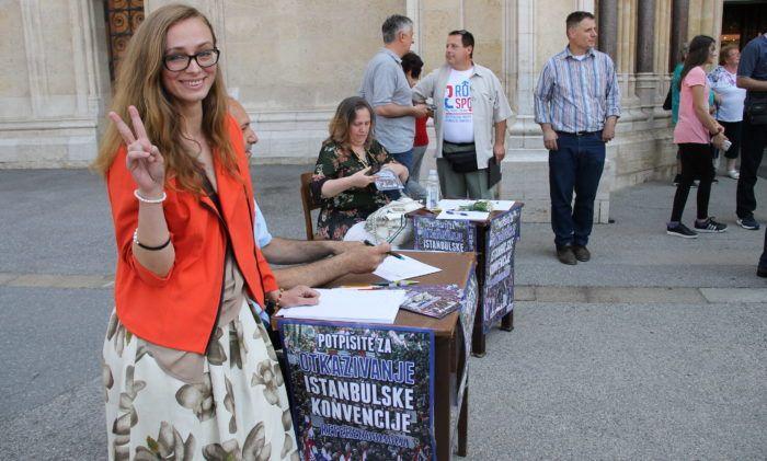 Građanska inicijativa: Počelo potpisivanje potpisa za referendum o otkazivanju Istanbulske konvencije