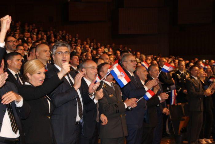 Svečana akademija povodom 27. obljetnice Oružanih snaga RH