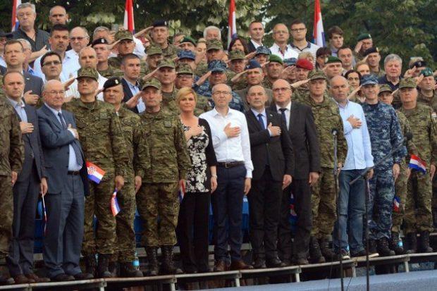 """Na ŠRC """"Jarun"""" Obilježen Dan Hrvatske vojske i Dan Hrvatske kopnene vojske"""