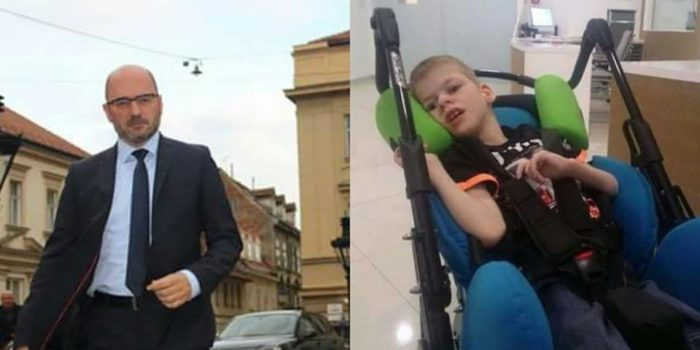 Potpredsjednik Hrvatskog sabora Milijan Brkić uputio apel: Budimo Velikog srca i pomozimo malom Lovri Hrčeku i njegovoj obitelji