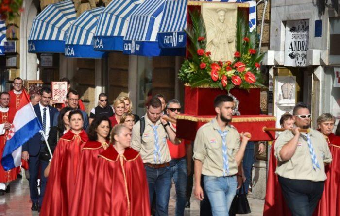 Predsjednica Grabar-Kitarović u Rijeci na proslavli blagdana svetog Vida