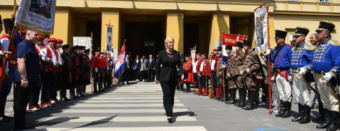 """Predsjednica Grabar Kitarović: """"Politika mora biti vjerodostojna, naša je odgovornost zaustaviti depopulaciju Hrvatske"""""""
