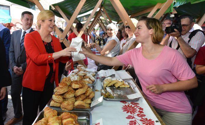 Predsjednica Grabar-Kitarović: poljoprivreda mora postati sredstvo blagostanja, a ne siromašenja