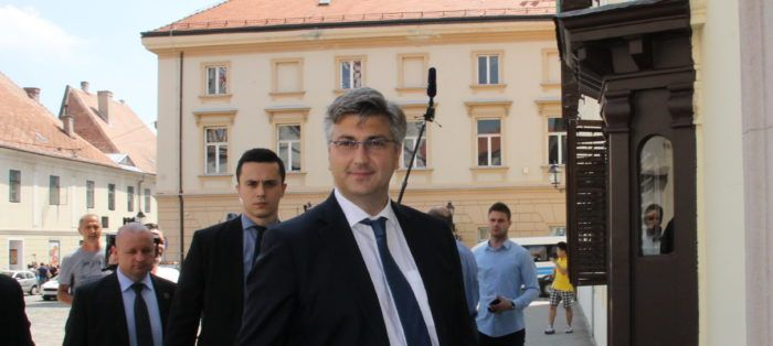 Premijer i šef HDZ-a Plenković: Vlada dosljednim i odgovornim radom nudi bolju perspektivu Hrvatskoj