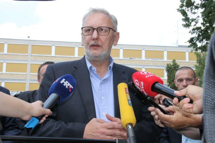 Ministar unutarnjih poslova Davor Božinović: Policija razmatra prijavu novinara Mazzocca protiv ministra Medveda