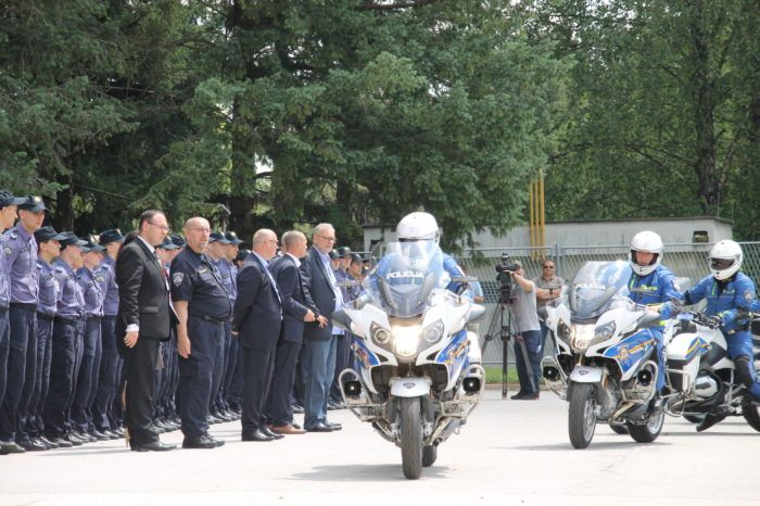 """Hrvatska policija dobila 78 vozila za kontrolu cestovnog prometa – Ministar Božinović: """"Policija krupnim koracima hvata standarde 21. stoljeća"""""""