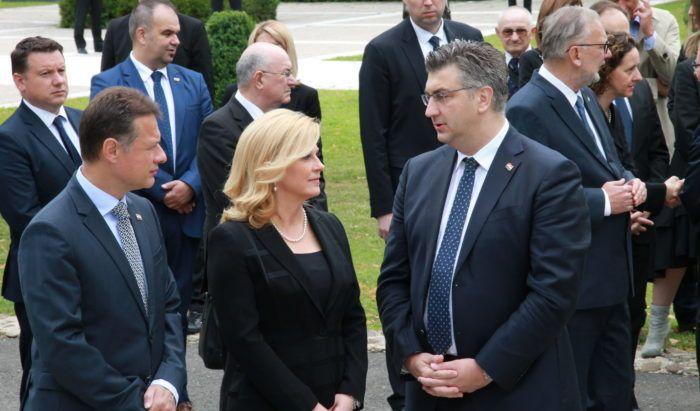 Plenković o odnosima s predsjednicom Grabar-Kitarović: kad nema rata, nema ni primirja