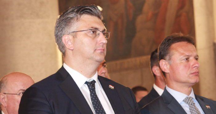 Hrvatski premijer Plenković ponovio Janši da je spreman za pregovore o rješavanju graničnog pitanja