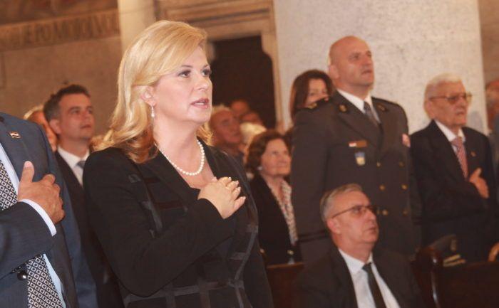 Predsjednica Republike Kolinda Grabar-Kitarović čestitala Dan državnosti Republike Hrvatske