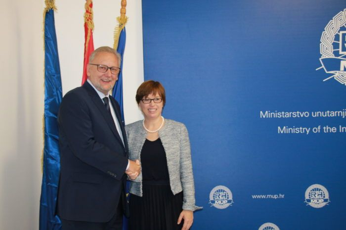 Ministar Davor Božinović s direktoricom Europola: suradnja Hrvatske s tom institucijom sve snažnija