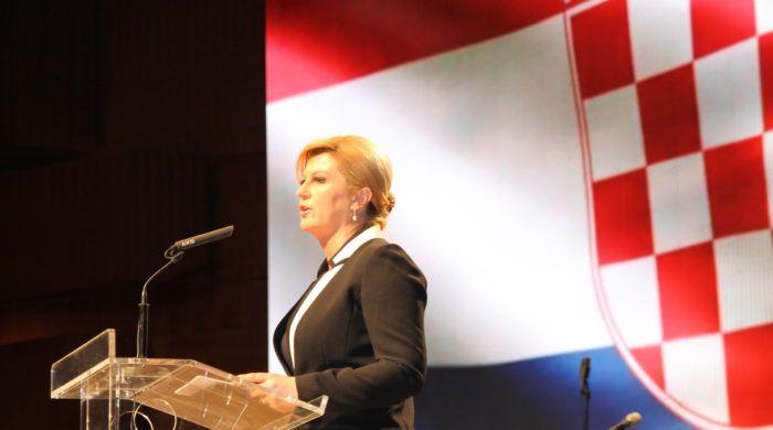 Predsjednica Grabar-Kitarović izrazila zadovoljstvo prihvaćanjem nagodbe o Agrokoru