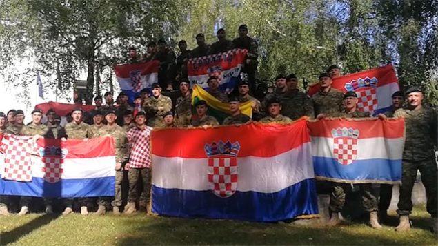 """Pobjednička poruka Hrvatske vojske Vatrenima u Rusiji: """"Jedno srce, jedna duša, jedna Hrvatska!"""""""