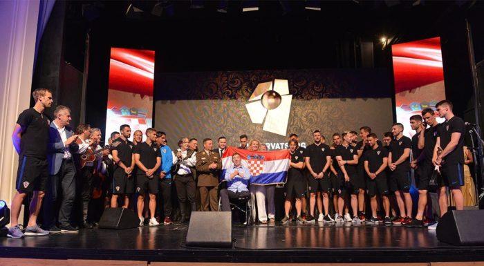 VUKOVAR – Simbol pobjede Hrvatske vojske za Hrvatsku nogometnu reprezentaciju