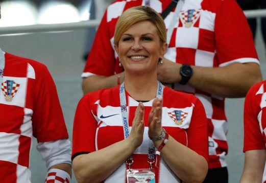 """""""FINALE SVJETSKOG PRVENSTVA"""" Hrvatska predsjednica Grabar-Kitarović posjetila 'Vatrene' u Moskvi"""
