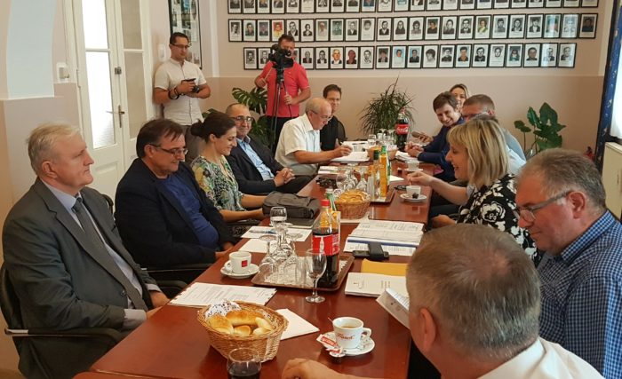Župan Božo Galić u radnoj posjeti Općini Lovas