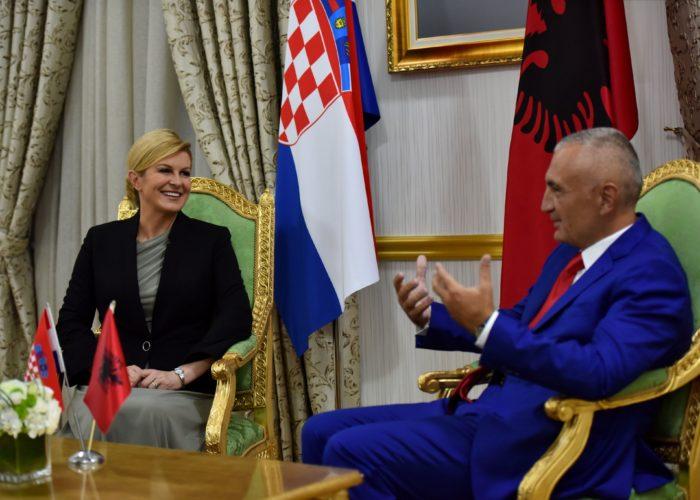 """Hrvatska i Albanija za unaprjeđenje gospodarske suradnje, zaštitu Jadrana – Grabar-Kitarović: """"Trebamo osnažiti našu suradnju koja već jest plodonosna"""""""